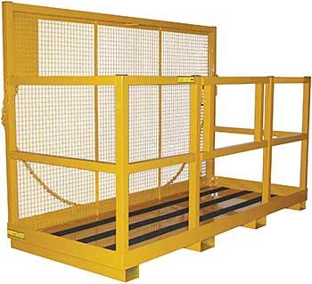 Vestil WP-4072 Multi-Person Forklift Work Platform