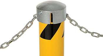 Vestil BOL-JKS-42-5.5 Bollard with Chain Slots