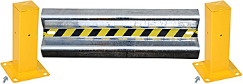 Vestil GR-4 Galvanized Guard Rail