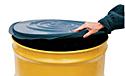 Vestil DC-TP-B Polyetheylene Drum Covers