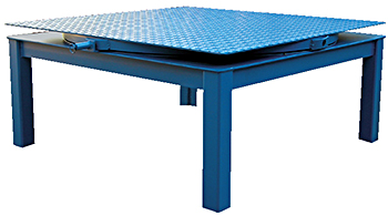 estil CA-BASE-48-24-4K Elevated Base for Carousel