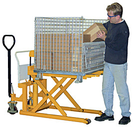 VVestil TAL-220-HD High Lift Pallet Jack