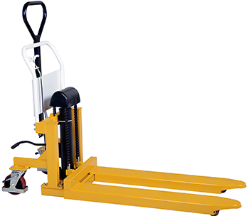 """Wesco Telescoping High Lift Pallet Jack From 3.6"""" to 31.5 ...  