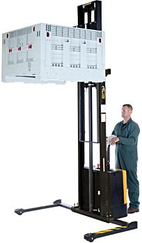 Vestil S-150-AA Electric Pallet Stacker