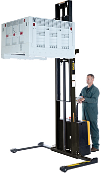 Vestil S-150-AA Electric Pallet Stacker