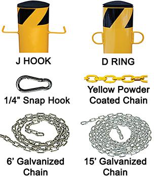 Vestil JBOL Accessories