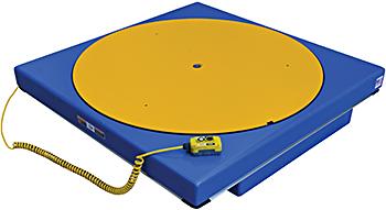 Vestil EHLT-ROTATE Integrated Carousel
