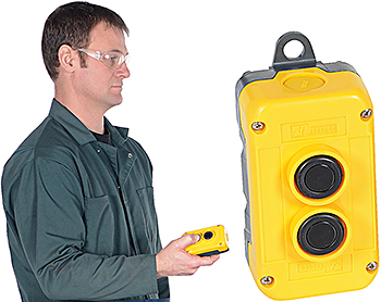 Vestil RRC-2PB Wireless Remote Control