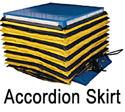 Vestil Accordion Skirting