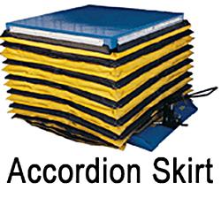 Vestil Accordion Skirting