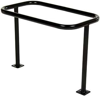 Vestil BR-ST-BK Bicycle Rack