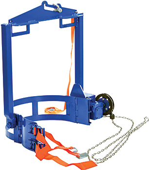 Vestil DCT-2000 Hoist Mounted Drum Rotator / Drum Carrier