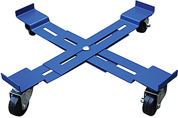 Vestil DRUM-X-H Adjustable Drum Dolly