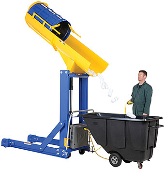 Hydraulic Drum Dumper