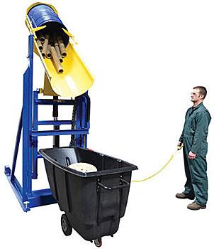 Vestil HLD-116-15-P Lift and Dump Drum Dumper