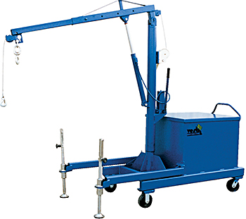 Vestil P-JIB-4 Hydraulic Floor Crane