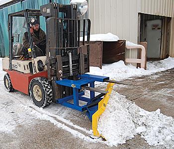 Vestil SPB-N-72 Forklift Snow Plow