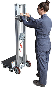 Vestil ALLW-2420-4SFL Aluminum Lite Load Lift