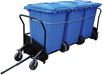 Vestil TH-CART-64 Trash Can Cart
