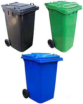 Vestil TH Trash Cans