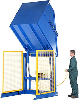 Vestil HBD-2-48 Hydraulic Box Dumper