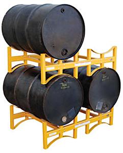 Vestil DRUM-STACK-2 Stackable Steel Drum Racks