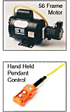 Hand Pendant Control & 56 Frame Motor