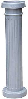 Vestil BOL-ALUM Decorative Aluminum Bollard