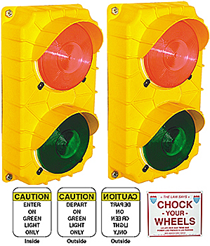 Vestil DTS-5 Loading Dock Traffic Light