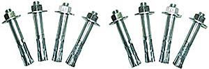 Vestil AS-344-4PK Concrete Anchor Bolts