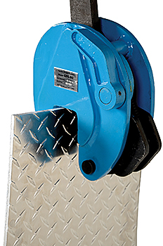 Vestil CPC-80 Vertical Plate Clamp With Chain