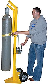 Vestil CYL-LT-1-HR Portable Cylinder Lifter