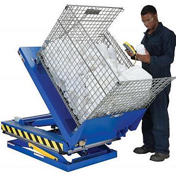 Vestil EHLTT Lift & Tilt Scissor Table