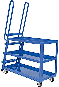 Vestil SPS-HD Stock Picking Cart