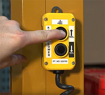 Big Joe S22-96 - Optional Hand Control