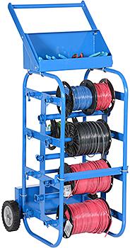 Vestil WIRE-D-E Wire Reel Cart