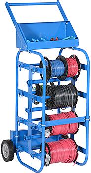 Vestil WIRE-D-E Wire Reel Cart