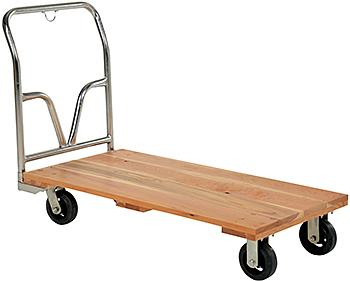 Vestil VHPT-2448 Hardwood Platform Truck