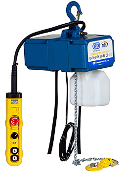 Vestil VS-ECH-5-1PH Electric Chain Hoist