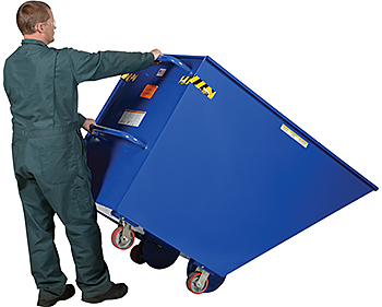 Vestil SPTT-10 Portable Steel Dump Hopper
