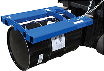 Vestil HORIZ-70 Forklift Horizontal Drum Carrier
