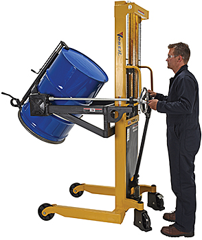 Vestil DRUM-LRT Portable Drum Rotator