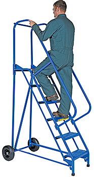 Vestil LAD-RAF-6-P Roll-A-Fold Ladder