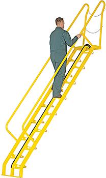 Vestil ATS-10-56 Alternating Tread Stairs