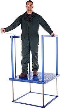 Vestil POS-3636 Worker Platform
