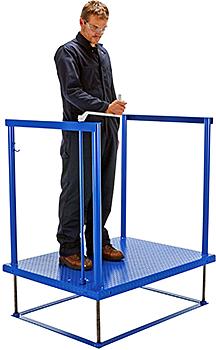 Vestil POS-3648 Worker Platform