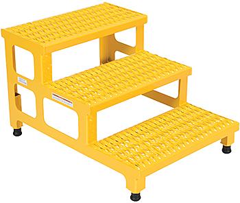 Vestil ASP-24-3 Adjustable Step Stand