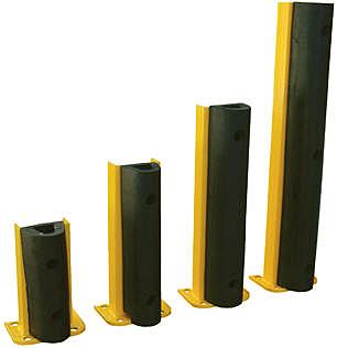 Vestil Structural Rack Guards With Bumper