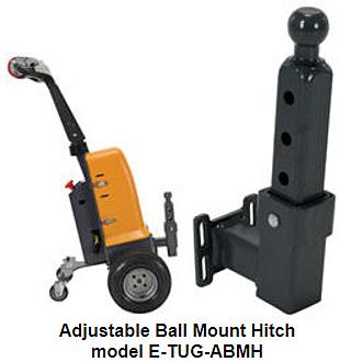 Vestil E-TUG-ABMH Adjustable Ball Mount