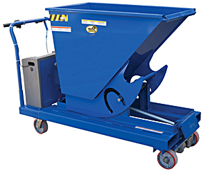 Vestil HOP-PTD Hopper With Power Traction Drive
